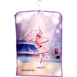 """Paint leotard holder """"Stefy with ribbon"""""""